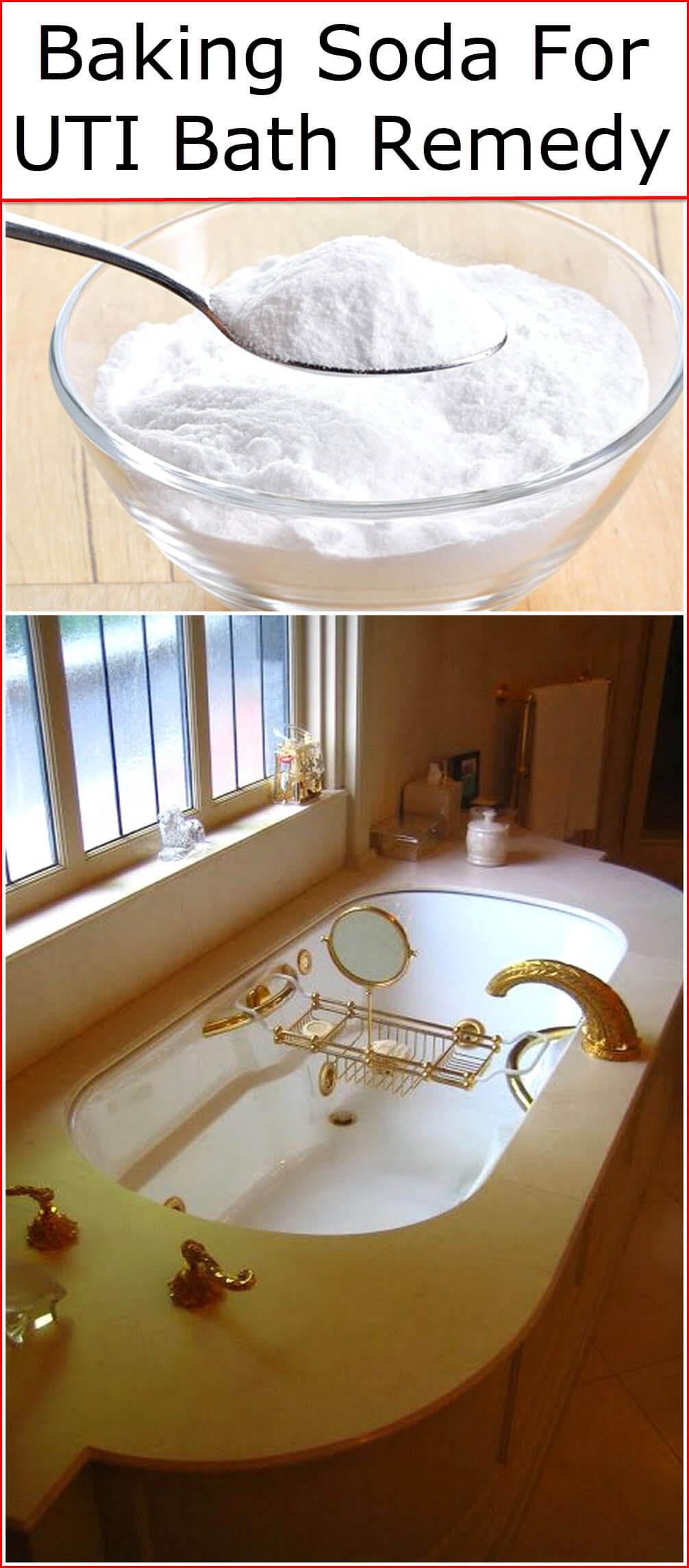 Baking Soda For UTI Bath Remedy