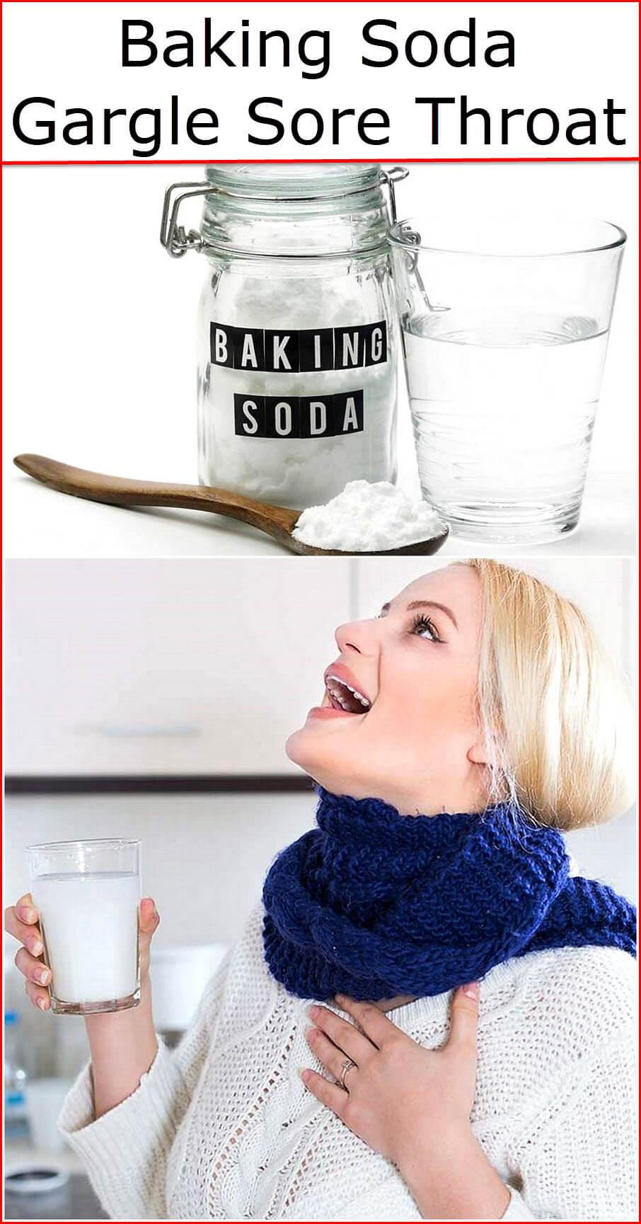 Baking Soda Gargle Sore Throat