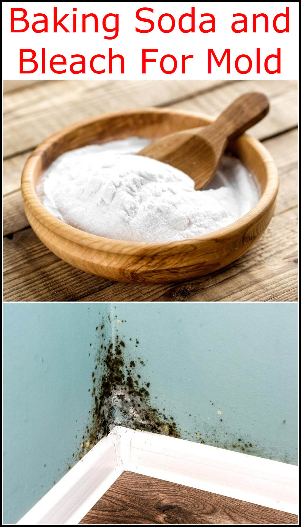 Baking Soda and Bleach For Mold