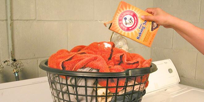 Baking Soda in Laundry Uses