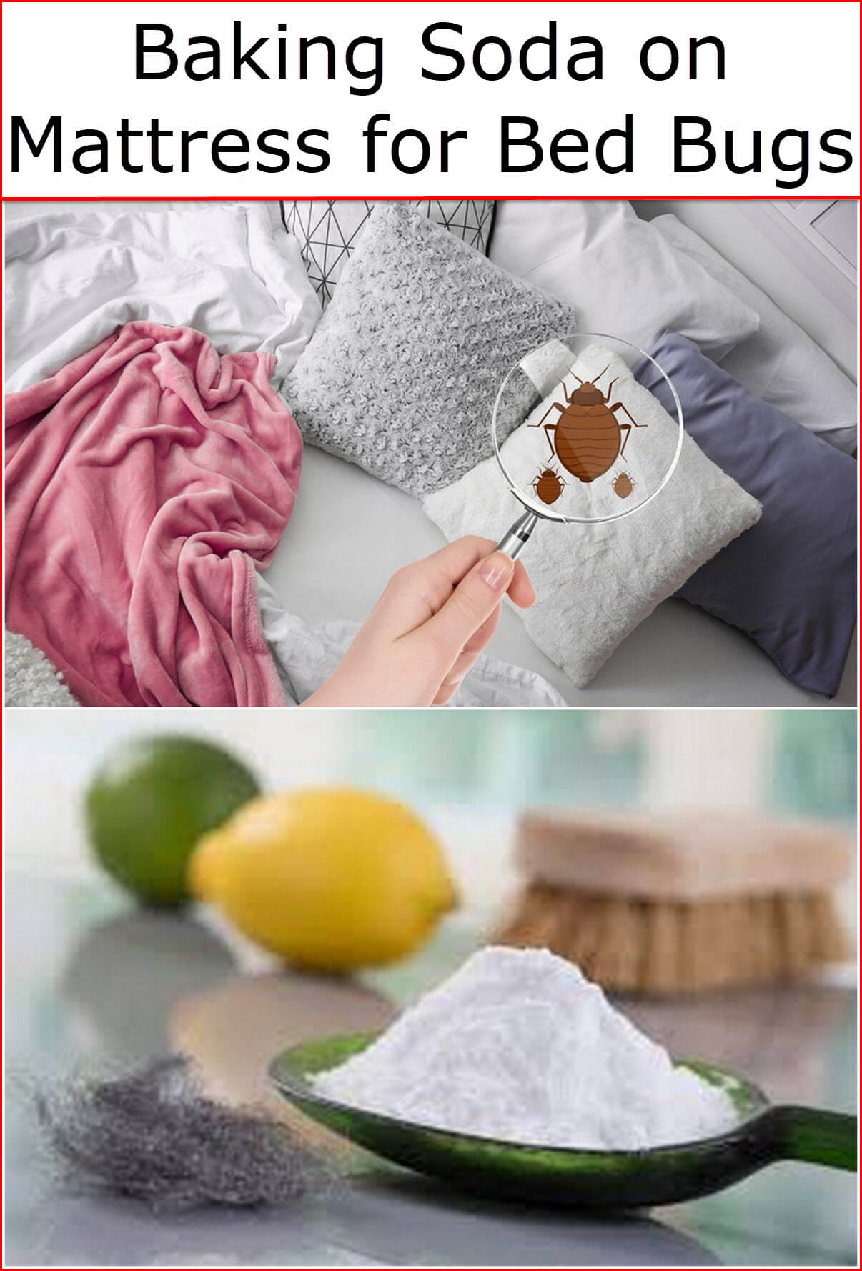baking soda on mattress for bed bugs baking soda uses and diy home remedies. Black Bedroom Furniture Sets. Home Design Ideas