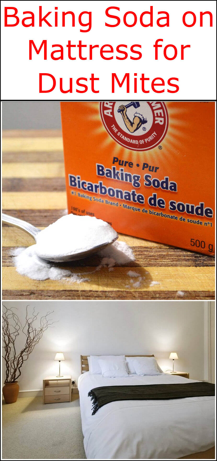 baking soda on mattress for dust mites baking soda uses and diy home remedies. Black Bedroom Furniture Sets. Home Design Ideas