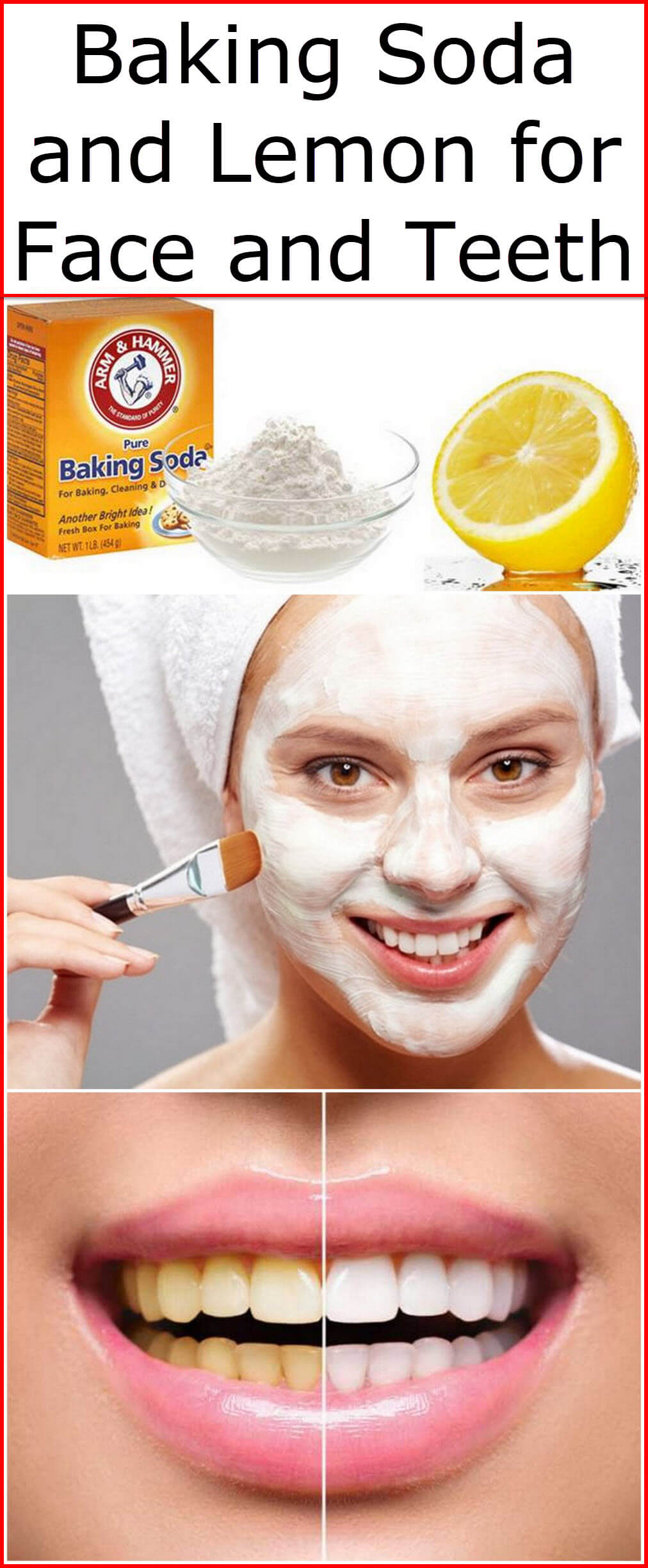 Baking Soda And Lemon For Face And Teeth Baking Soda Uses And Diy Home Remedies
